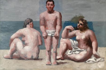 1920-21 BAIGNEUR ET BAIGNEUSES