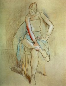 1920 Danseuse assise OPP051 381KB