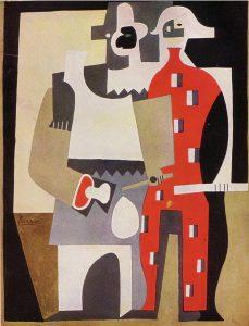 1920 Pierrot et arlequin OPP272 384KB