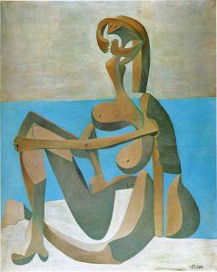 1930-baigneuse-assise-au-bord-de-la-mer-opp30-002