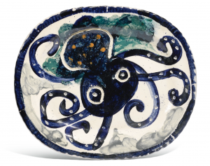 Pieuvre Bleue (Blue Octopus), 1947