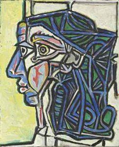 1952 Tête de femme