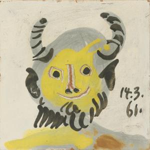 Tête de Faune, 1961