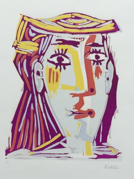 Femme au Chapeau (Portrait de Jacqueline)