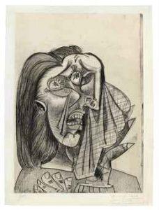 B1333 La Femme qui pleure I, Christie's 2011,11