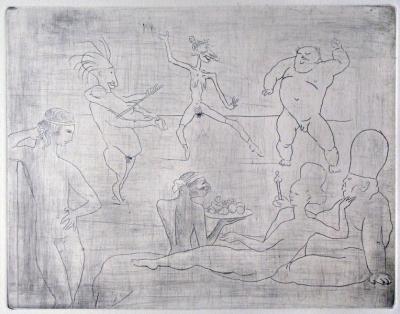 La Danse Barbare (devant Salomé et Hérode)