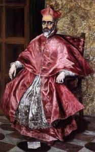 El Greco, Portrait of a Cardinal