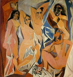 The Women of Avignon    oil on canvas, 1907