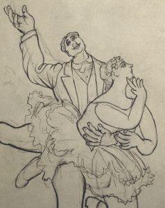 Couple de Danseurs (detail), 1919