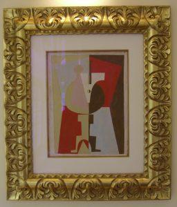 1920 Le Guéridon, framed 378KB