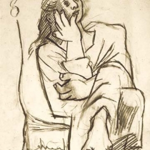 Femme Assise (sold)