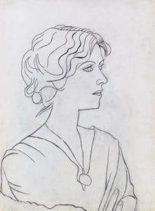 Portrait d'Olga (1920)