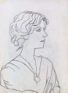 Portrait d'Olga