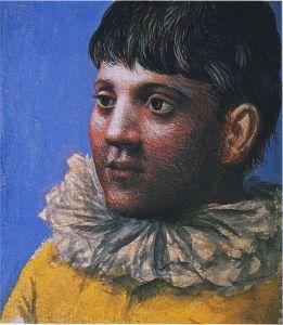 1922_Portrait_d'adolescent_en_Pierrot
