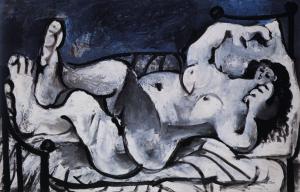 Nu Couché, 1964