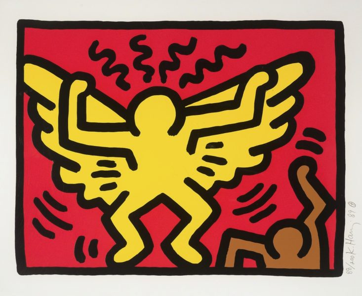 Keith Haring (American, 1958–1990):<br>Untitled (from the Pop Shop IV Suite)