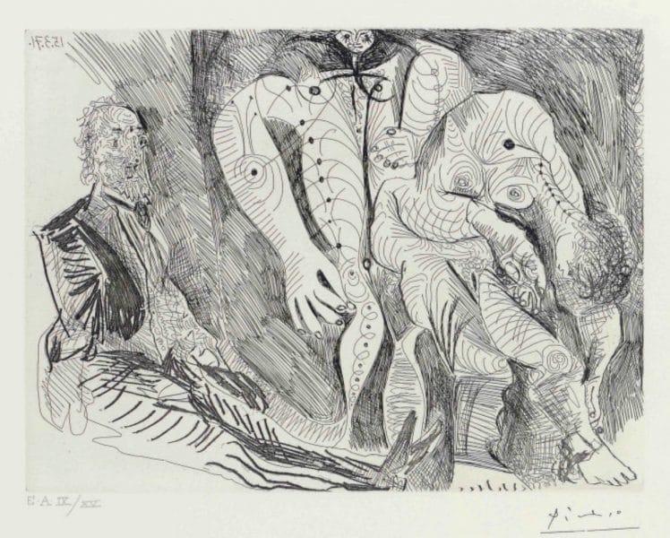 Femmes à leur Toilette, avec Degas Rêvant