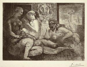 Fig. 18. Quatre Femmes Nues avecTête Sculptée (Bloch 219)