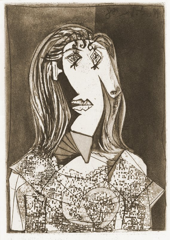 Buste de Femme à la Chaise (Dora Maar) - Ledor Fine Art - Original ...
