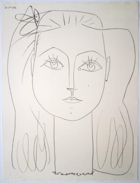 Françoise au nœud dans les cheveux