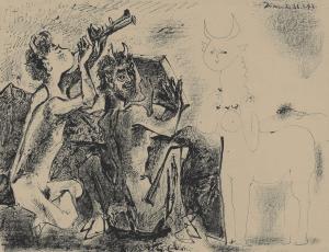 Fig. 29. Les Faunes et la Centauresse (Bloch 413)