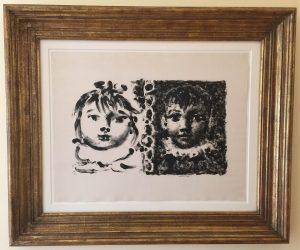 B664 Paloma et Claude, framed 583KB