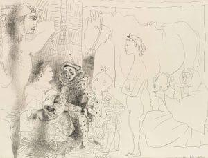 Fig. 36a. La Famille du Saltimbanque (Bloch 753)