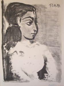 Fig. 37a. Buste de Femme auCorsage Blanc (Bloch 848)