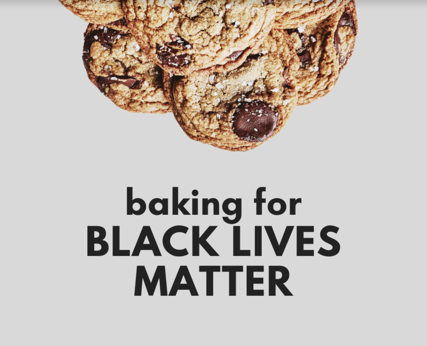 Baking for BLM!<br>(closed now but still cool)