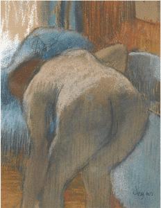 Degas, La Sortie Du Bain