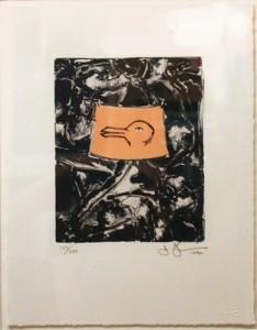 Jasper Johns (American, b. 1930)<BR>Untitled (For Harvey Grant)