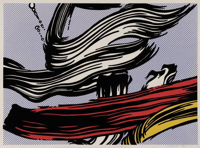 Roy Lichtenstein (1923 - 1997):<br> Brushstrokes