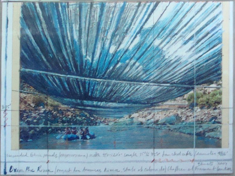 Christo and Jeanne-Claude:<br>Over the River