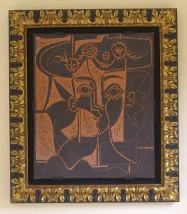 R518 Grande Tete de Femme, framed, lo-rez