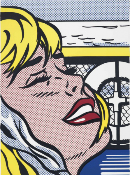 Roy Lichtenstein (1923 - 1997):<br>Shipboard Girl